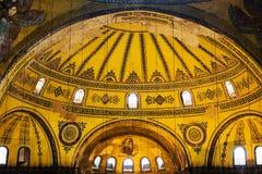 Configuración de Hagia Sophia Fotos de archivo