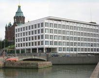 Configuración de Helsinki Foto de archivo