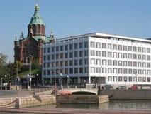 Configuración de Helsinki fotografía de archivo libre de regalías