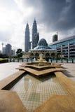 Configuración de Kuala Lumpur fotografía de archivo libre de regalías
