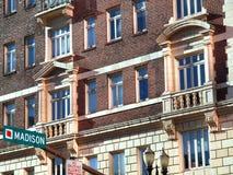 Configuración de la avenida de Madison. Imagen de archivo