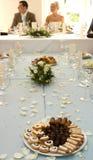 Configuración de la boda Fotos de archivo