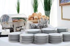 Configuración de la comida fría Imagenes de archivo