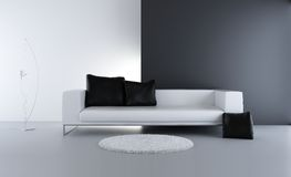 Configuración de la sala de estar Foto de archivo