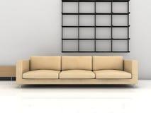 Configuración de la sala de estar Libre Illustration