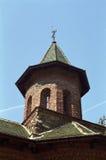 Configuración de la torre de iglesia ortodoxa Fotos de archivo libres de regalías