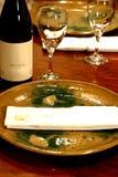 Configuración de lugar japonesa de la cena imagen de archivo