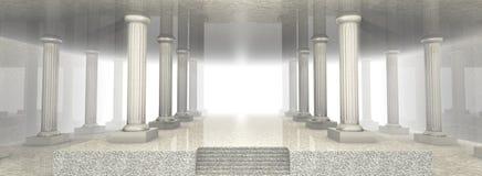 Configuración de mármol Foto de archivo