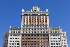 Configuración de Madrid Imágenes de archivo libres de regalías