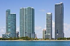 Configuración de Miami la Florida Imagenes de archivo