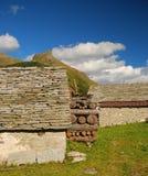 Configuración de piedra típica alpestre, Alpe Veglia. Imagen de archivo libre de regalías