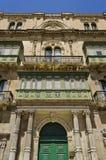 Configuración de Valletta - Malta Fotos de archivo libres de regalías