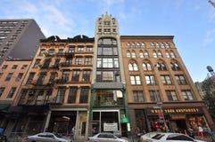 Configuración del arrabio en Broadway, Manhattan, NYC Fotografía de archivo