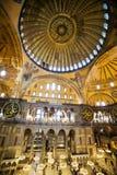 Configuración del bizantino de Hagia Sophia Fotografía de archivo libre de regalías