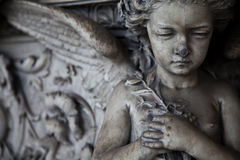 Configuración del cementerio - Europa imagenes de archivo