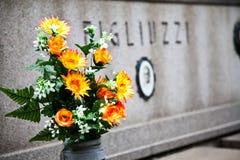 Configuración del cementerio - Europa Fotos de archivo