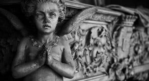 Configuración del cementerio - Europa fotos de archivo libres de regalías