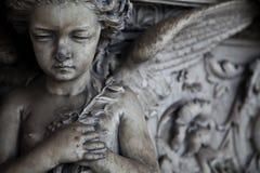 Configuración del cementerio - Europa fotografía de archivo