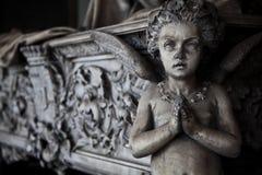 Configuración del cementerio - Europa imagen de archivo