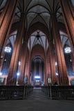 Configuración del interior de la bóveda de la catedral de Francfort Fotos de archivo