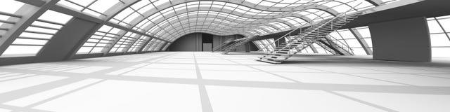 Configuración del vestíbulo Imágenes de archivo libres de regalías