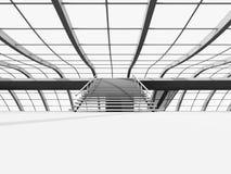 Configuración del vestíbulo Fotos de archivo libres de regalías