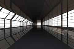 Configuración del vestíbulo Foto de archivo