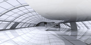 Configuración del vestíbulo Imagen de archivo