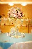 Configuración elegante de la boda Imagenes de archivo
