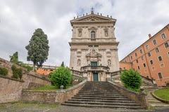 Configuración en Roma, Italia Fotos de archivo libres de regalías