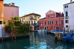 Configuración en Venecia, Italia Fotografía de archivo libre de regalías