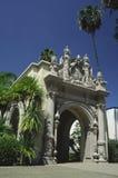 Configuración española en San Diego Fotos de archivo