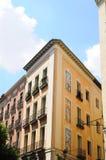 Configuración específica en el centro de Madrid, balneario Fotografía de archivo libre de regalías