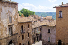 Configuración medieval de la ciudad Fotos de archivo