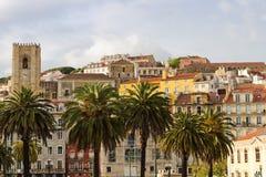 Configuración mediterránea de Lisboa Fotografía de archivo libre de regalías