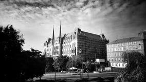 Configuración Mirada artística en blanco y negro Foto de archivo libre de regalías