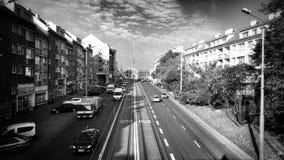 Configuración Mirada artística en blanco y negro Imagen de archivo libre de regalías