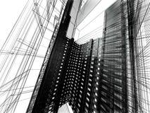 Configuración moderna abstracta Foto de archivo