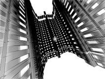Configuración moderna abstracta Fotos de archivo