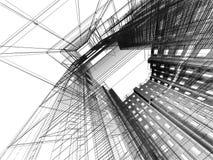 Configuración moderna abstracta Imagen de archivo libre de regalías