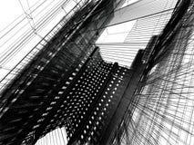 Configuración moderna abstracta Imágenes de archivo libres de regalías