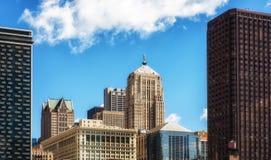 Configuración moderna de Chicago imágenes de archivo libres de regalías