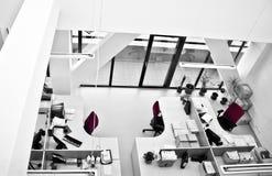 Configuración moderna de la oficina Foto de archivo