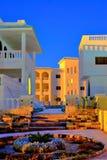 Configuración moderna del hotel de Egipto Fotos de archivo libres de regalías