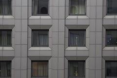 Configuración moderna Edificio en el estilo de alta tecnología, centro de negocios Fotografía de archivo