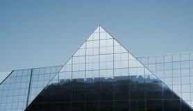 Configuración moderna Edificio en estilo de alta tecnología Imagen de archivo libre de regalías