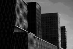 Configuración moderna en la ciudad Imagenes de archivo