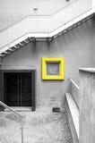 Configuración moderna Foto blanco y negro de Pekín, China Fotos de archivo