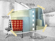 Configuración moderna para el proyecto restyling stock de ilustración