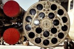 Configuración posible del armamento en la cañonera del helicóptero fotos de archivo libres de regalías